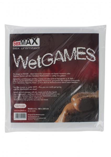 SEXMAX BEDSHEET WHITE 180X220
