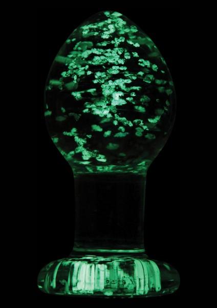 FIREFLY GLASS PLUG CLEAR MEDIUM