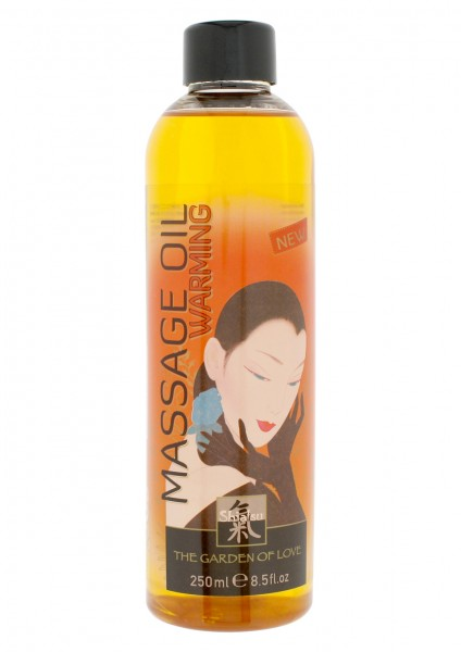 SHIATSU WARMING OIL MASSAGE 250 ML