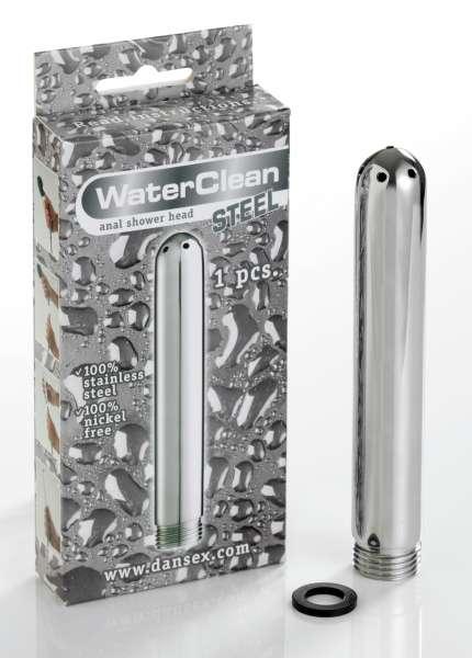 *WaterClean Shower Head Steel