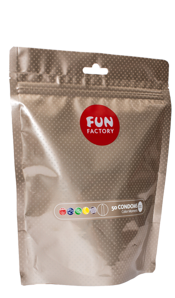 Fun Factory - COLOR MOMENTS (50ER PACKUNG) – DIE FUN FACTORY KONDOME
