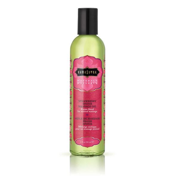 Kama Sutra - Naturals Massage Oil Strawberry