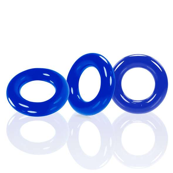 Oxballs - Willy Rings 3-pack Cockrings Police Blue