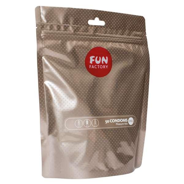 Fun Factory - PLEASURE MIX (50ER PACKUNG) – DIE FUN FACTORY KONDOME