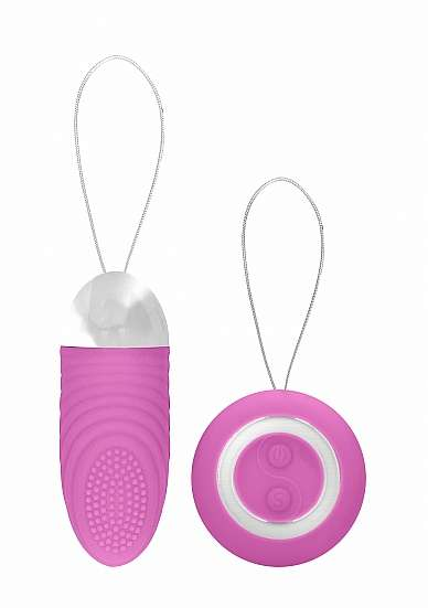 Ethan - Rechargeable Remote Control Vibrating Egg - Pink