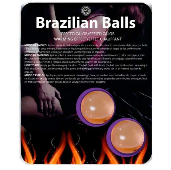 BRAZILIAN BALLS WARMING EFFECT 2 UNITS